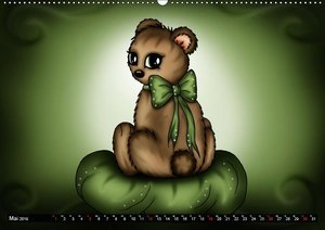 knuffige Teddys (Wandkalender 2019 DIN A2 quer)