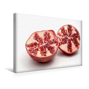 Premium Textil-Leinwand 45 cm x 30 cm quer Granatapfel