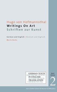 Hugo von Hofmannsthal: Writings on Art / Schriften zur Kunst