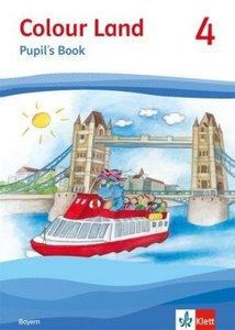 Colour Land ab Klasse 3 - Ausgabe für Bayern. Pupil's Book 4. Sc