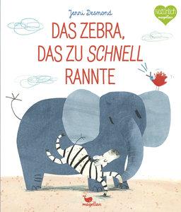 Das Zebra, das zu schnell rannte