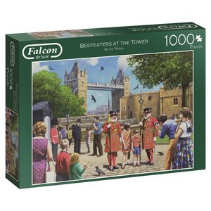 Beefeaters At The Tower - 1000 Teile Puzzle