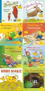 Pixi-Bundle 8er Serie 221: Pixi mit Hasen Hühnern