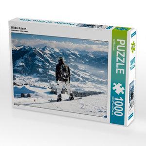 Wilder Kaiser 1000 Teile Puzzle quer