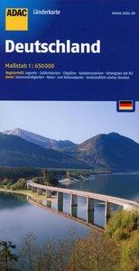 ADAC LänderKarte Deutschland 1 : 650 000