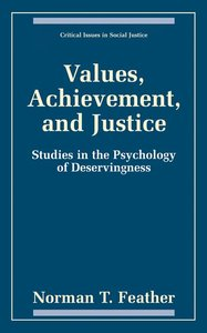 Values, Achievement, and Justice