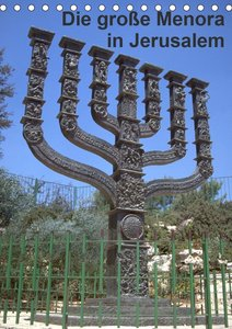 Die große Menora in Jerusalem