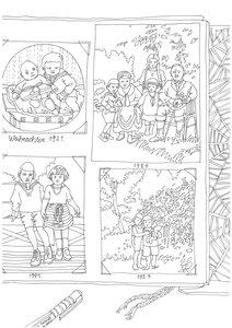 Malbuch Erinnerungsbilder