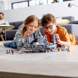 LEGO® 75257 - Star Wars Millennium Falcon, Bauset, 1351 Teile