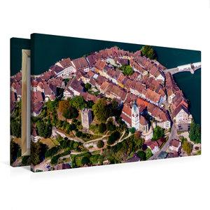 Premium Textil-Leinwand 75 cm x 50 cm quer Eng aneinander schmie