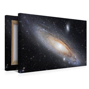 Premium Textil-Leinwand 45 cm x 30 cm quer Andromedagalaxie im S