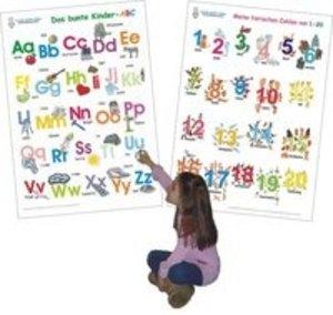 Das bunte Kinder-ABC + Meine tierischen Zahlen von 1-20
