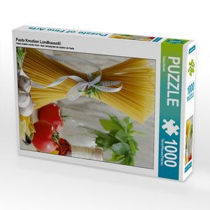 Pasta Kreation Landhausstil 1000 Teile Puzzle hoch