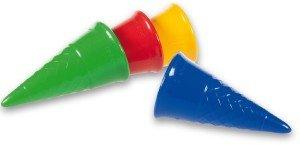 Spielstabil 7415 - Eistüten Classic, sortiert, 1 Stück
