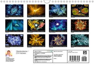 Glückssterne / CH-Version (Wandkalender 2019 DIN A4 quer)
