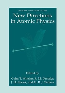 New Directions in Atomic Physics