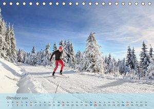 Langlaufen - für Körper und Seele (Tischkalender 2019 DIN A5 que
