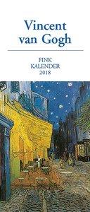 Vincent van Gogh Kunst-Postkartenkalender 2018