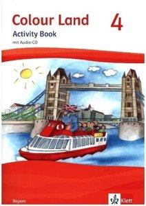 Colour Land ab Klasse 3 - Ausgabe für Bayern. Activity Book mit