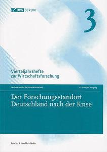 Der Forschungsstandort Deutschland nach der Krise
