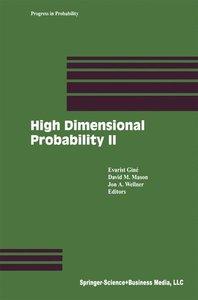 High Dimensional Probability II