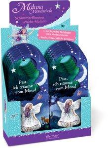 12er VE Maluna Mondschein. Schimmerflimmer Leucht-Maluna