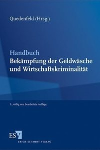 Handbuch Bekämpfung der Geldwäsche und Wirtschaftskriminalität