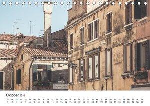 Venedig - Stille Ansichten (Tischkalender 2019 DIN A5 quer)