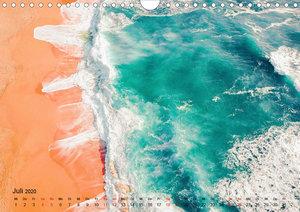 Die schönsten Meerblicke von oben (Wandkalender 2020 DIN A4 quer