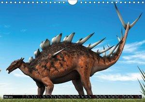 Dinosaurier. Urzeitliche Giganten (Wandkalender 2019 DIN A4 quer