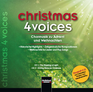 christmas 4 voices, Doppel-CD