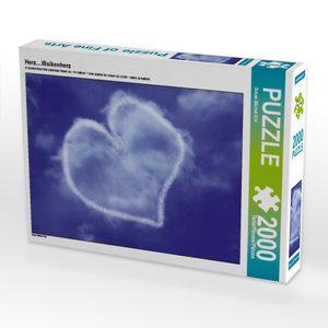 Herz....Wolkenherz 2000 Teile Puzzle quer