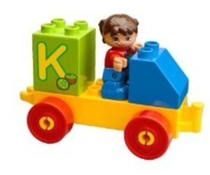 LEGO® DUPLO Steine & Co. 6051 - Buchstaben-Lernspiel