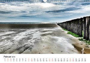 Wieder an der Nordsee (Wandkalender 2019 DIN A3 quer)