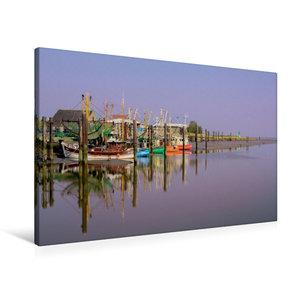 Premium Textil-Leinwand 90 cm x 60 cm quer the RGB Boat