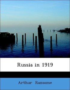 Russia in 1919