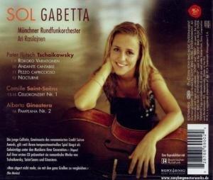 Werke für Cello: Tschaikowsky/Saint-Saens/Ginaster