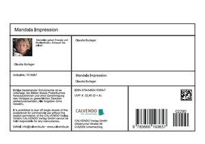 Mandala Impressionen (Tischaufsteller DIN A5 quer)