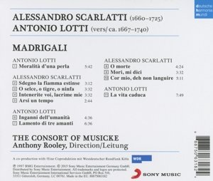 Scarlatti & Lotti: Madrigali