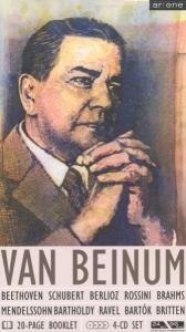 Eduard Van Beinum (Beethoven/Schubert/Berlioz/Ross