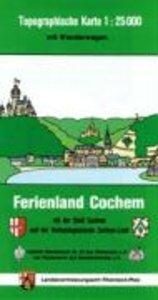 Ferienland Cochem und Treis-Karden 1 : 25 000