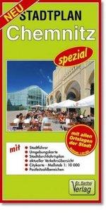 Chemnitz spezial 1 : 20 000. Stadtplan