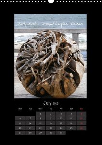 Haiga - Pictures and Haiku / UK-Version (Wall Calendar 2015 DIN
