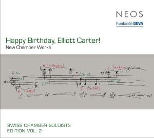 Happy Birthday,Elliott Carter!
