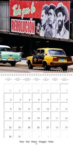 LADA AND CO. SOVIET CARS IN CUBA (Wall Calendar 2016 300 × 300 m
