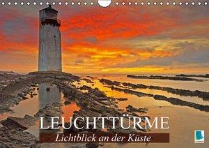 Lichtblick an der Küste: Leuchttürme (Wandkalender 2016 DIN A4 q