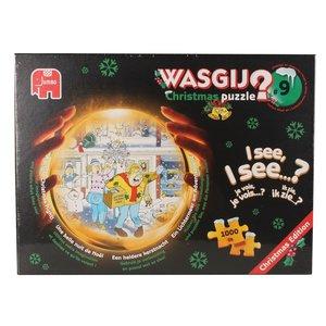 Wasgij Christmas 9 - Lichtermeer am Adventsabend - 1000 Teile Pu