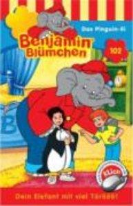 Benjamin Blümchen 102. Das Pinguin-Ei. Cassette