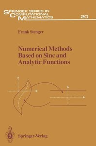 Numerical Methods Based on Sinc and Analytic Functions