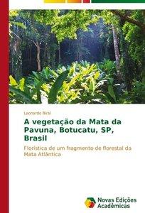 A vegetação da Mata da Pavuna, Botucatu, SP, Brasil
